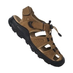 3홀 SANDAL-Brown MEN HNX7057